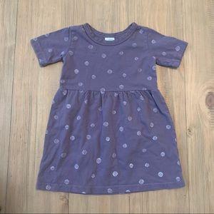 North of West | Organic Purple Polka Dot Dress